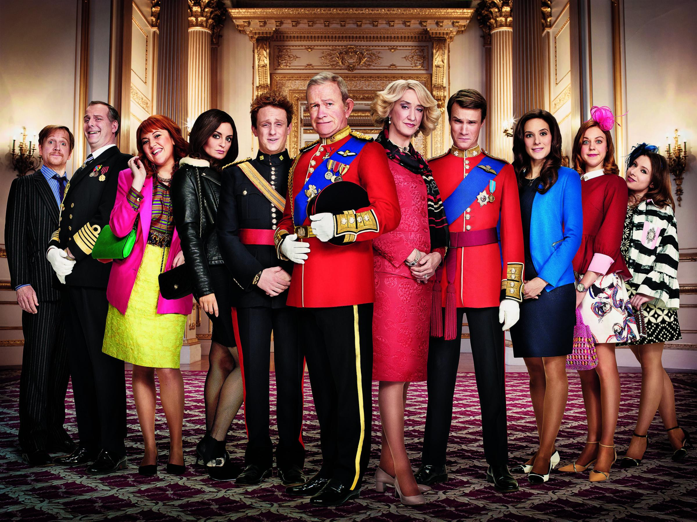 The Windsors cast lined up.