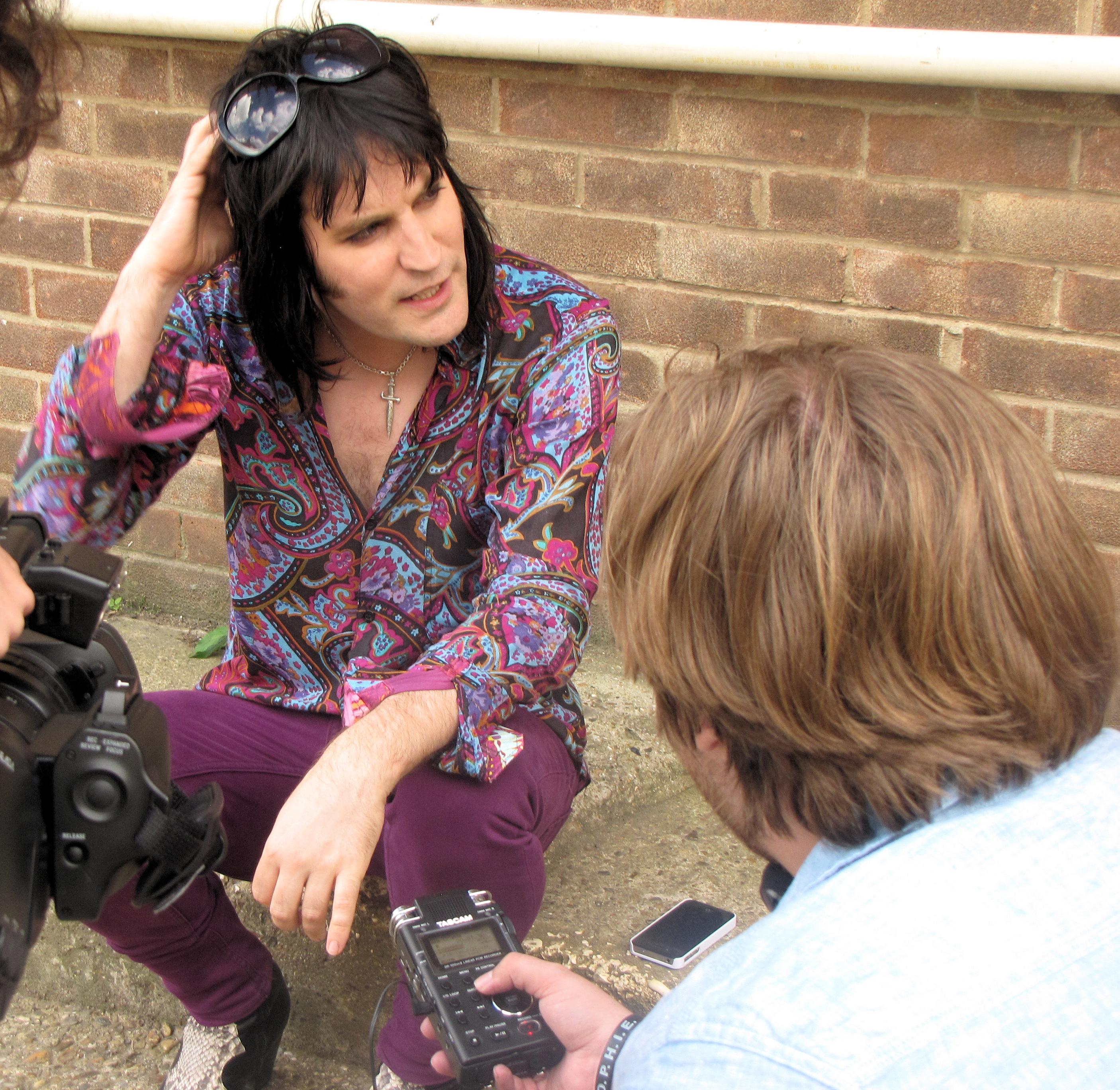 Paul Holmes interviews Noel Fielding.