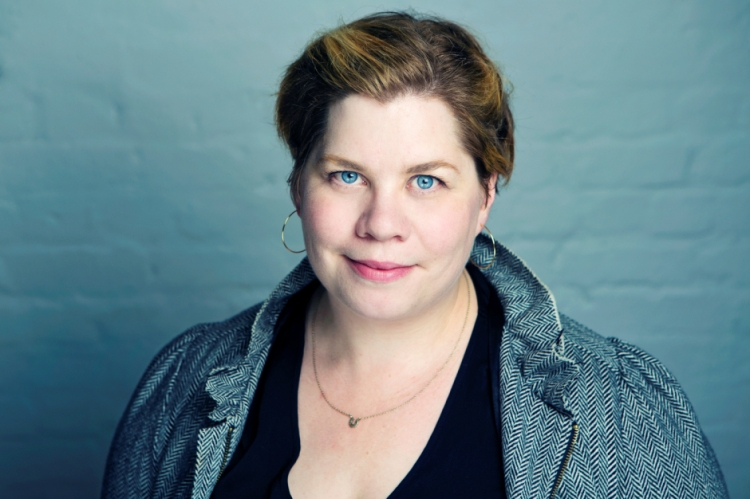 Portrait photograph of Katy Brand